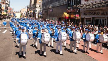 纽约游行集会纪念425 三亿三退 民众支持反迫害