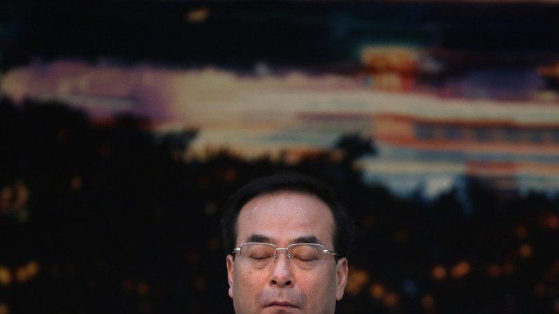 """孙政才薄熙来秦城""""会合"""" 重庆书记""""不入常就入狱"""""""