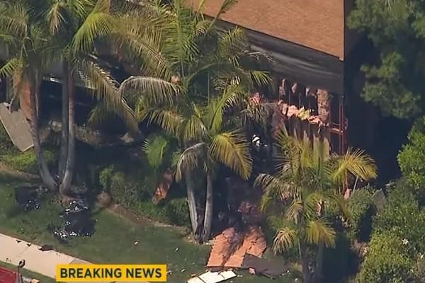 美南加州醫療大樓爆炸 建築炸出大洞釀1死3傷
