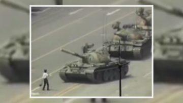 """学做""""坦克人""""纽约纪念六四 青年也参与"""