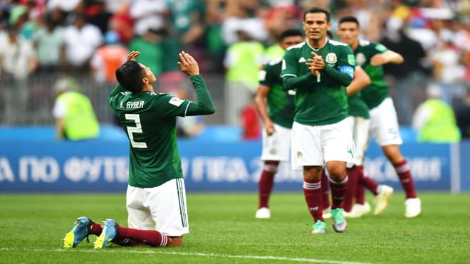 世界杯爆大冷门 德国队0比1输给墨西哥