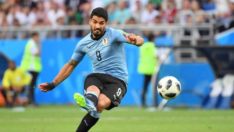 凌空勁射破網 烏拉圭1比0勝沙特