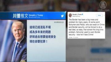 川普發推文視頻 重申解決非法移民問題