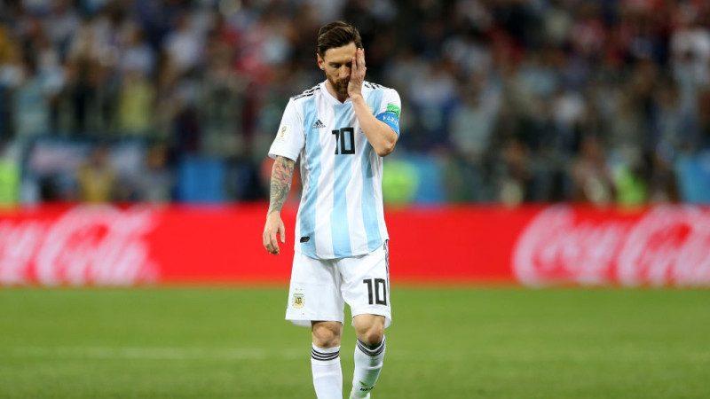 克羅地亞3比0大勝 梅西表情如犯「偏頭痛」