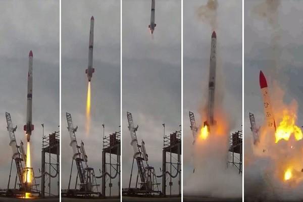 日企發射「MOMO 2號」小火箭 升空4秒墜毀大爆炸