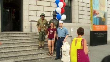 獨立日在紐約 體驗軍旅生活 勿忘自由不易