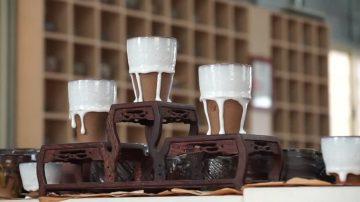 奶油文创杯出窑 集陶艺家二十年功力