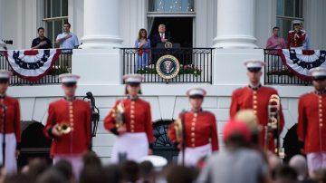 守護傳統價值 川普總統白宮慶獨立日
