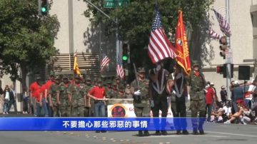 紅木城獨立日遊行 美國精神感佩人心