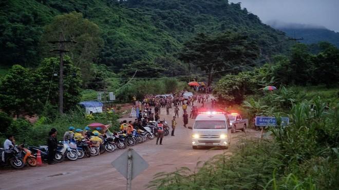 泰洞穴救援4少年獲救 9日上午重啟救援