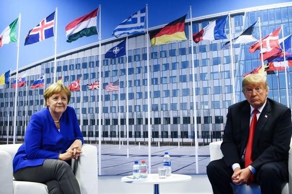 德从俄买能源却要美国保护  川普:不公平