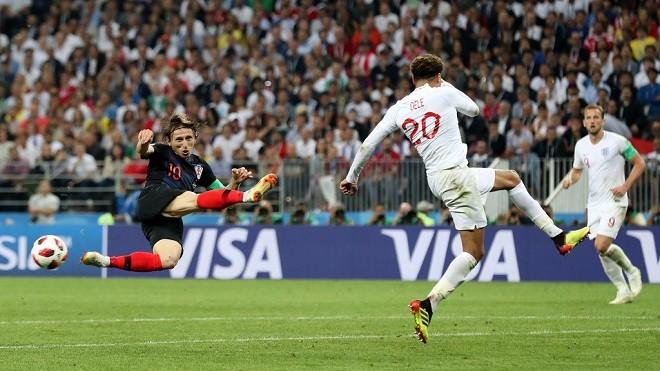加時逆轉英格蘭 克羅地亞首闖世界盃決賽