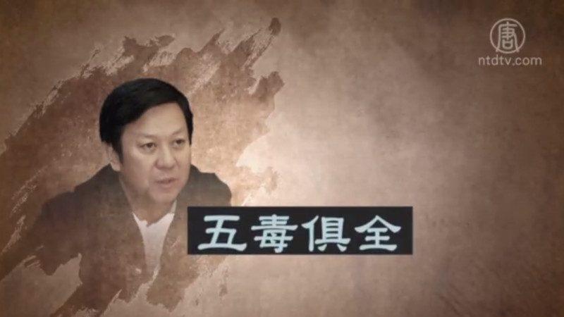 被指「五毒俱全」 河北前政法委書記張越獲刑15年