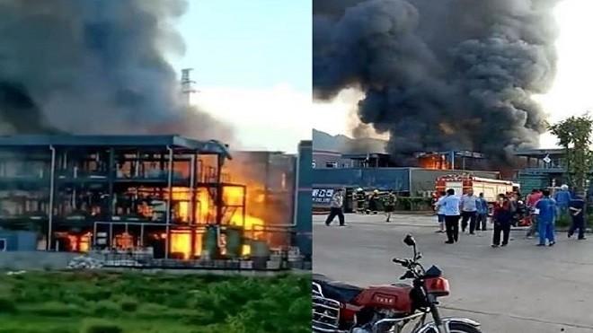 四川科技廠爆炸 至少31死傷