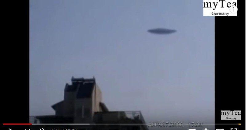 """中国大陆近岸海里""""突然窜出巨大 UFO!""""有字幕(视频)"""