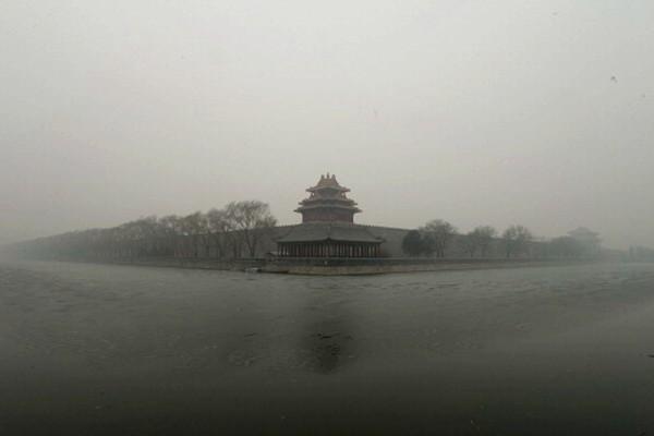 """北京笼罩""""不祥之兆"""" 古代帝王皆畏惧"""