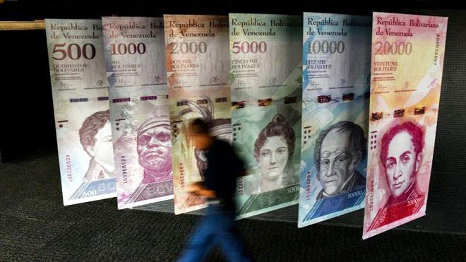恶性通膨 委内瑞拉重订币值少5个零 上调最低工资