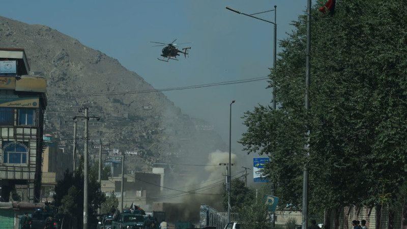多枚火箭弹攻击 阿富汗使馆区硝烟弥漫