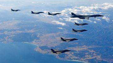 朝鮮廢核無進展 美韓擬重啟大規模聯合空軍演習