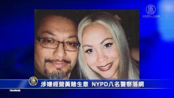涉嫌经营黄赌生意 NYPD八名警察落网