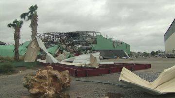 迈克尔横扫佛州乔治亚 社区若战后废墟