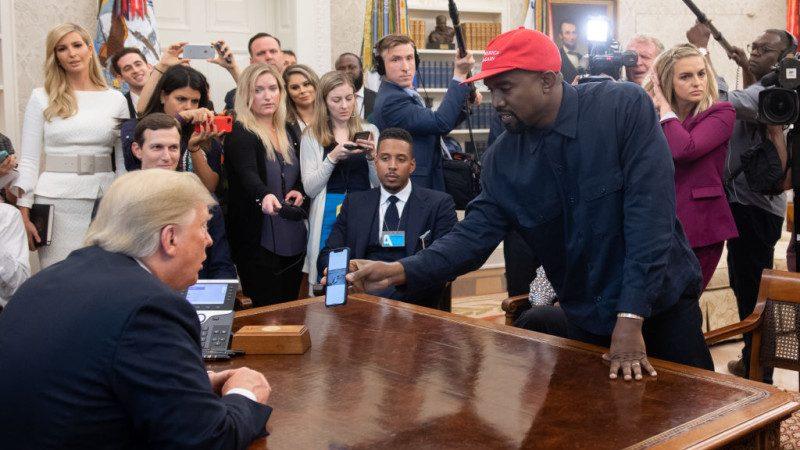 受邀入白宫赴宴 威斯特:戴川普帽感觉如超人