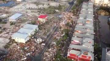 迈克尔飓风过后满目疮痍 至少11人死