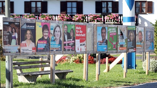 德国地方选举姐妹党失利 默克尔联合政府遭重击