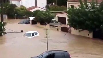 法國西南部突發洪水 至少13人死亡