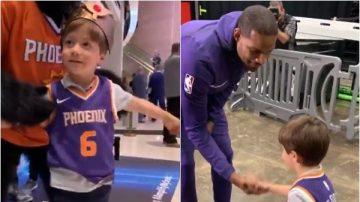 男童邀32同学庆生被放鸽子 NBA连送大礼羡煞球迷