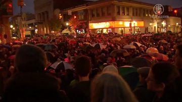 匹兹堡犹太教堂枪击案 川普严词谴责 民众烛光夜悼