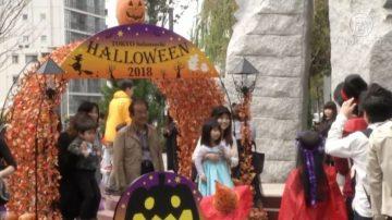 不给糖就捣蛋  东京晴空塔万圣节亲子游行