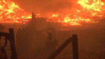 加州南北野火肆虐已致25人丧生