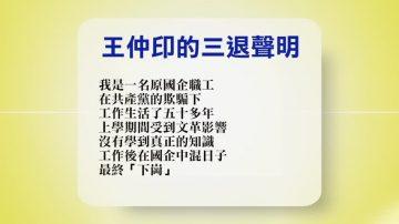 【禁聞】11月16日退黨精選