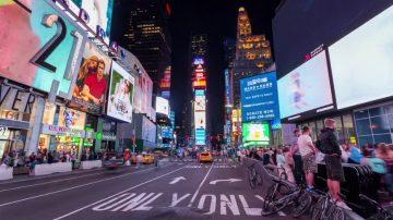 纽约时代广场NYPD分局 翻修后亮丽揭幕