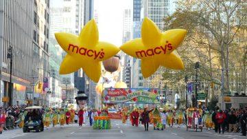 全美最大感恩節遊行 精彩盛況一覽
