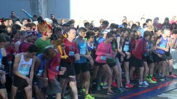 硅谷感恩节火鸡赛跑 两万五千人参与
