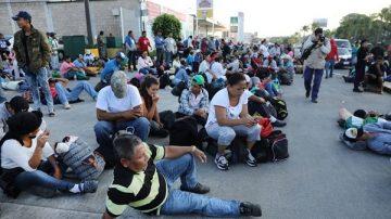 大篷車移民壓境 川普政府:非法越境者不得申請庇護