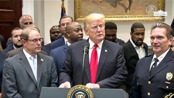 川普白宮講話 推動監獄改革《第一步法案》