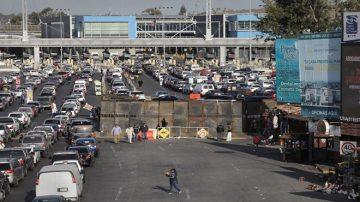 阻大篷車移民越境 美封西半球最大入境口岸