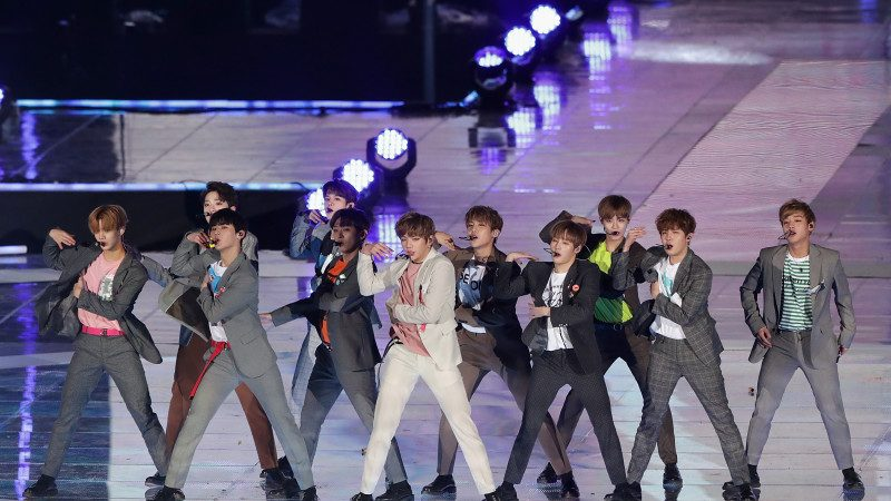 Wanna One《春风》夺韩国七大音源榜冠军