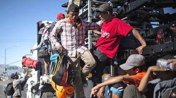 大篷車移民藏500罪犯 川普:不會讓他們來
