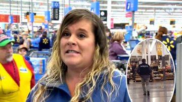 超市驚現聖誕老公公 神秘男子幫顧客結帳