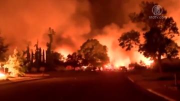 【2018加州十大新闻】加州野火频破纪录 森林管理受质疑