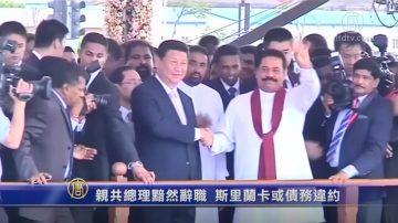 亲共总理黯然辞职 斯里兰卡或债务违约