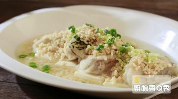 厨娘香Q秀:黄金龙胆斑泡饭-芋头腊味煲