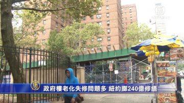 政府楼老化失修问题多 纽约掷240亿巨资修缮