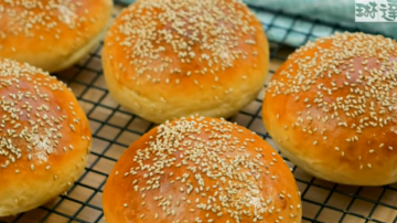 自制汉堡面包(视频)