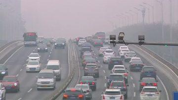 陰霾圍城 陸82城市發布重污染預警