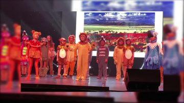 洛小天使合唱团唱圣诞音乐剧《狮子王》